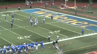 Widener's Anthony Davis' Ridiculous Punt Return Negated by Penalties (Oct. 6, 2012)