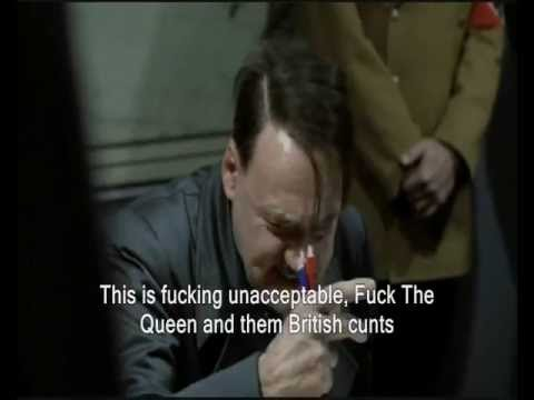 Hitler reacts to The Queen visit to ireland