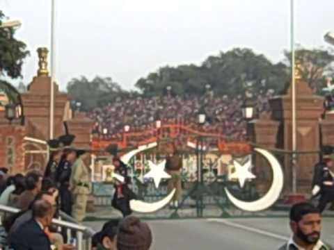 India   Pakistan Border - Guard Changing Ceremony video