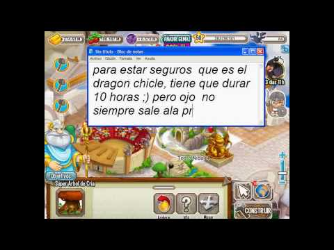 como sacar el dragon Gummy (chicle) Dragon city (Gabo Drew HD)