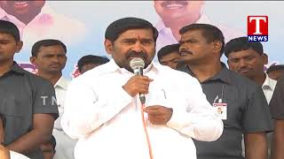 Minister Jagadish Reddy Speech | Releases Water From Dindi Project  live Telugu