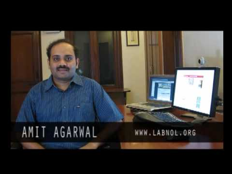 Amit Agarwal - Google AdSense Publisher from India