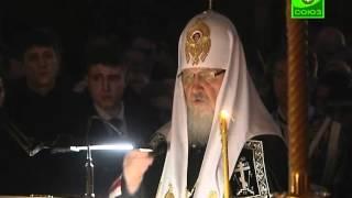Канон cвятого Андрея Критского. Среда