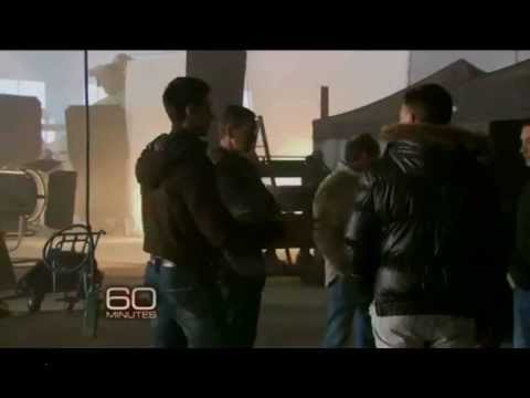 Novak Djokovic EXPENDABLES 2 cameo On CBS 60 minutes