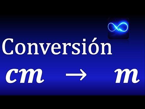 2. Cómo Convertir Centímetros A Metros Muy Fácil