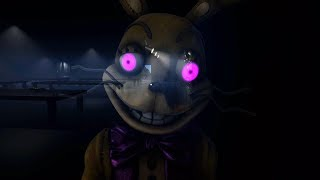 Entering Spring Bonnies GLITCHED Location.. || FNAF Back In The 80's