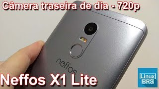 Neffos X1 Lite - Câmera traseira de dia a 720p