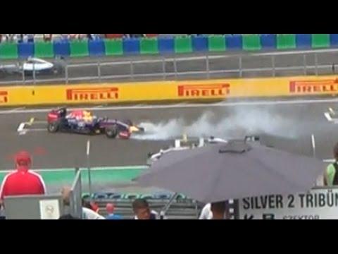 Sebastian Vettel HUNGARORING 2014 360° piruett (HD - 1080p)