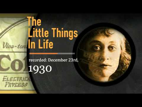 Irving Berlin - The Little Things in Life