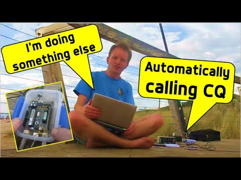 Arduino for amateur radio: Automatic CQ caller