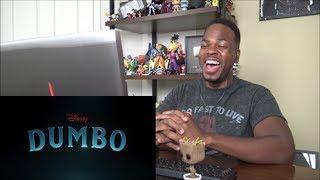 Dumbo Official Teaser Trailer REACTION!!!