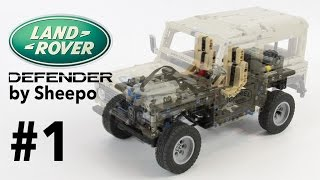 Chassis / Шасси MAP. Land Rover Defender. Episode 1