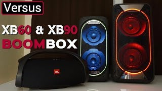 JBL BOOMBOX Vs Sony XB60 Vs Sony XB90 - I'm Going To Need A Bigger Studio For This