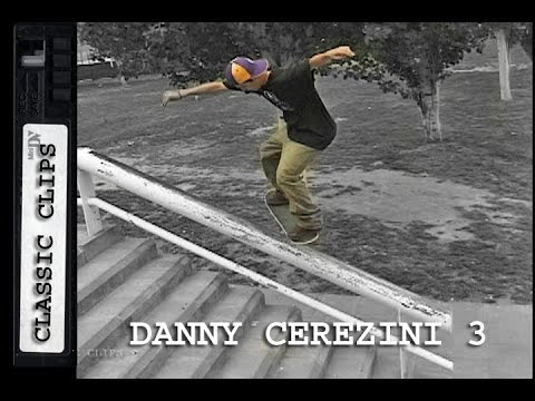Danny Cerezini Skateboarding Classic Clips #186 Part 3