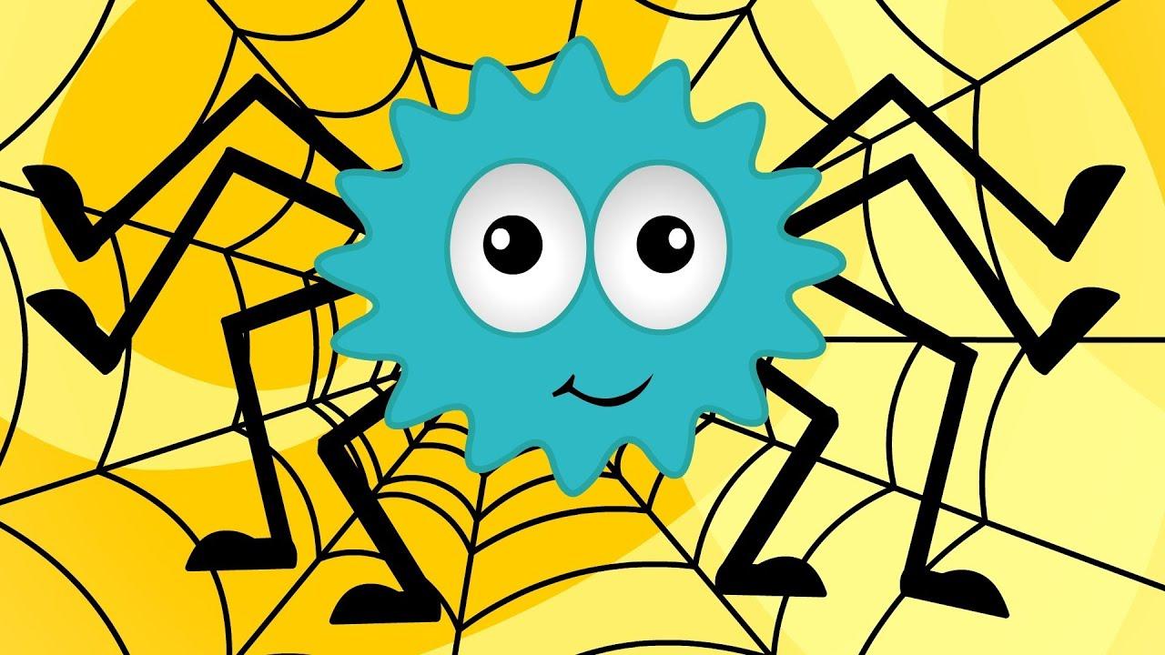 Incy wincy spider rhyme youtube - Dibujos de pared para ninos ...