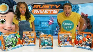 Rusty Rivets Toy Challenge  ! || Toy Review || Konas2002