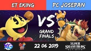 RTFA5 Top8 GF: ET|EKing (Pac-Man) vs PC|Josepan (Bowser)
