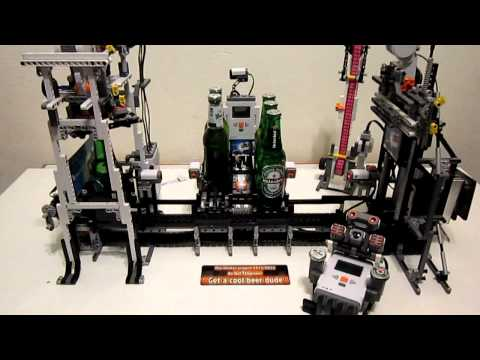 Lego Mindstorms NXT - The Beer Machine Final