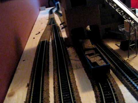 HO Scale Shelf Layout (fly-by)