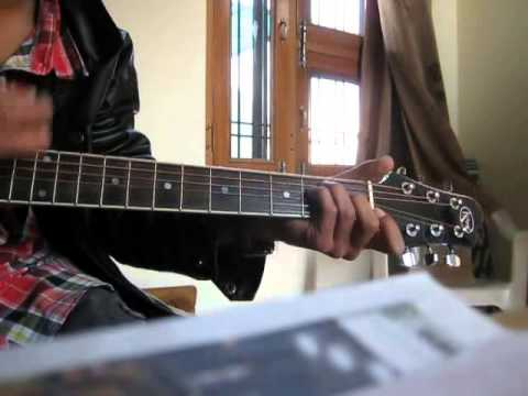 DABANNG 1&2 theme tune on GUITAR !! by rishabh