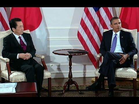 President Obama's Bilateral Meeting with Prime Minister Naoto Kan of Japan