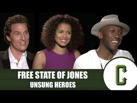 Matthew McConaughey & Gugu Mbatha-Raw Name the Unsung Heroes of 'Free State of Jones'