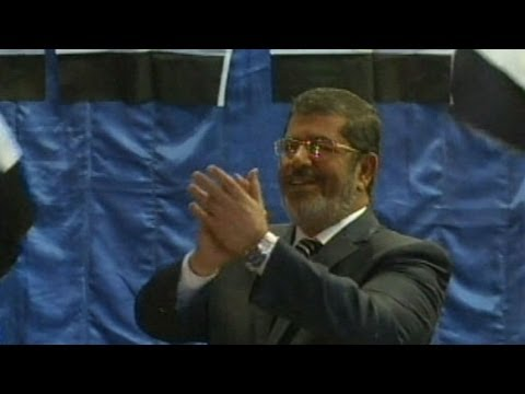 Muslim Brotherhood Candidate Mohammed Morsi Wins Egypt's Election To Replace Hosni Mubarak