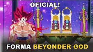 Goku TEM uma Transformação Chamada BEYONDER GOD - Explicação Completa