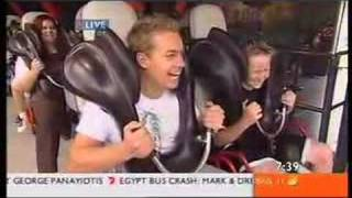 Superman Escape with Grant Denyer @ Movie World
