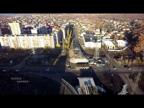 Улица Ташкентская / Новая стрелка / октябрь 2017 г.Самара #Samara #Russia