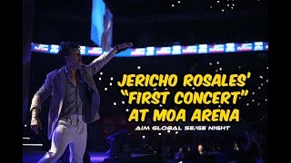 Jericho Rosales Performs at MOA Arena