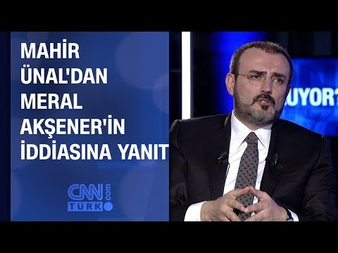 Ünal'dan Akşener'in iddiasına yanıt: Bu bir iç savaş çığırtkanlığıdır