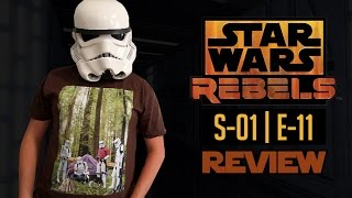 Star Wars Rebels - S01 | E11 - Vision of Hope - REVIEW