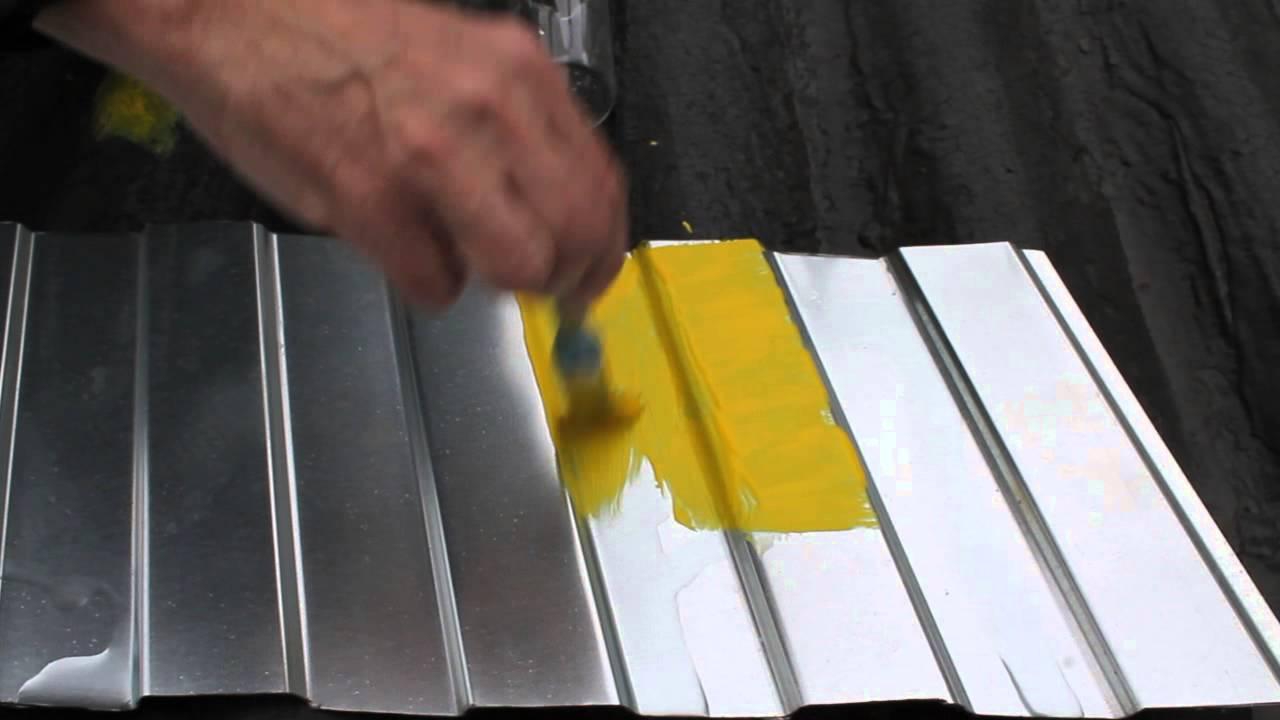 Покрасить профнастил своими руками 193