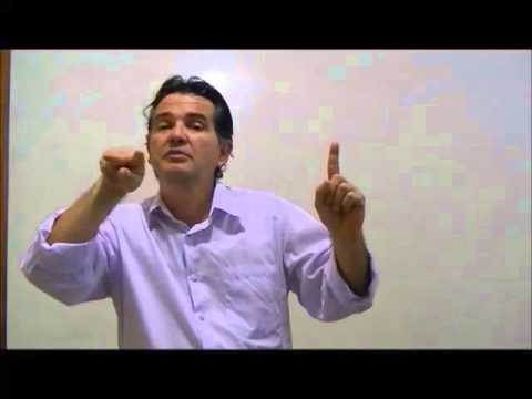 Curso de Libras  Verbos e Documentos - Aula 3 - Prof. Luiz Albérico Falcão