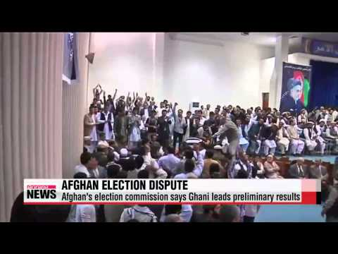 Afghan presidential election dispute threatens peace