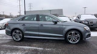 2018 Audi A3 Sedan Lake forest, Highland Park, Chicago, Morton Grove, Northbrook, IL AP8768