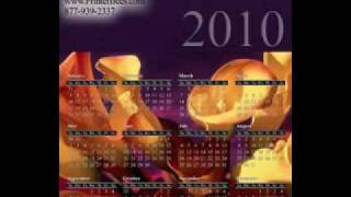 2010 Calendar Magnets, 2010 Calendars - market your business for a whole year with calendar magnets