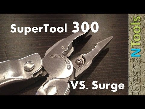 Leatherman Super Tool 300  VS Leatherman Surge Review