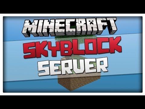 Minecraft Servers - TOP 3 Best Skyblock SERVERS! Shop, Own islands - For Minecraft 1.8.3 / 1.8 / 1.7