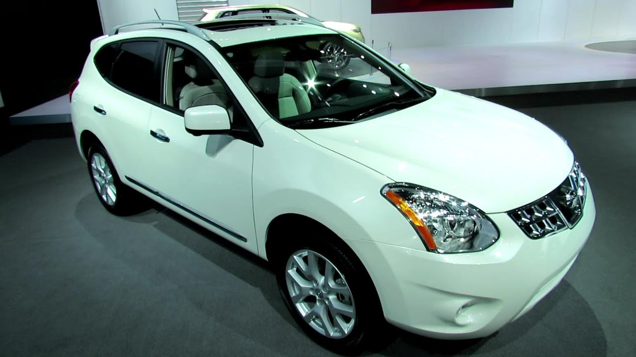 2013 Nissan Rogue Sl Awd Exterior And Interior