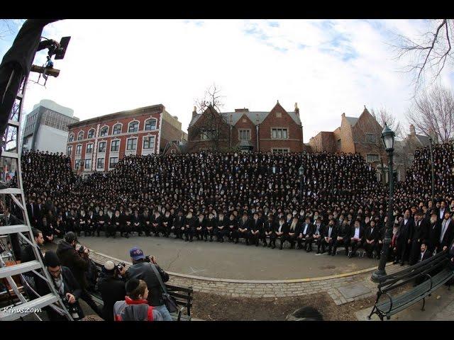 Chabad Shluchim Pose for Group Photo