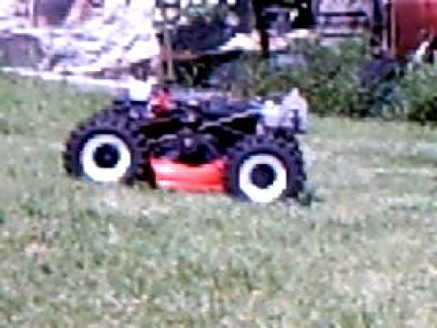 Remote Control All terrain Lawn Mower