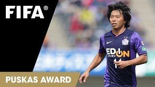 Hisato Sato Goal: FIFA Puskas Award 2014 Nominee