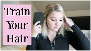 How To: Part Your Hair Anywhere You Want! | Train Your Hair 101