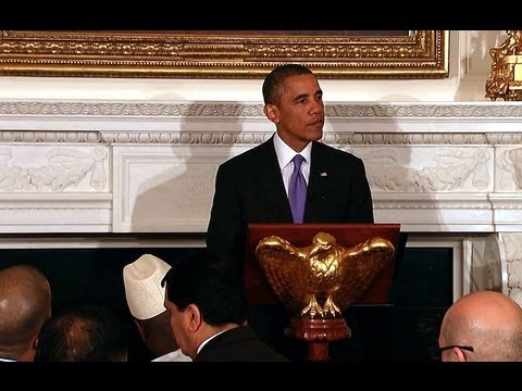 President Obama Hosts an Iftar Dinner