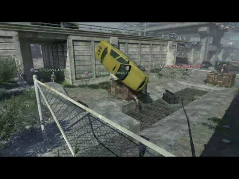 Throwing Taxis in MW3 (WTF MOMENT)