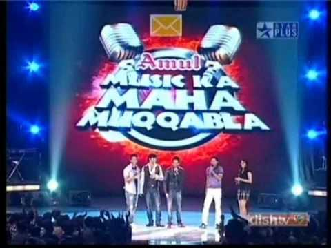 Shahid Kapoor and Genilia D´Souza in Music Ka Maha Muqabala 1/2