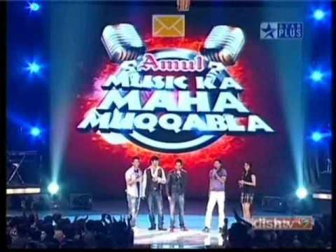 Shahid Kapoor And Genilia D´souza In Music Ka Maha Muqabala 1 2 video