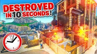 How to DESTROY Tilted Towers in 10 SECONDS! (Not Clickbait)